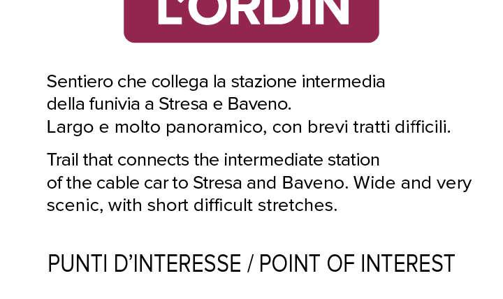 Sentiero L'Ordin