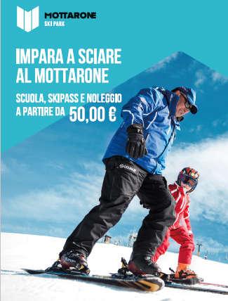 Una montagna di novità per imparare a sciare al Mottarone