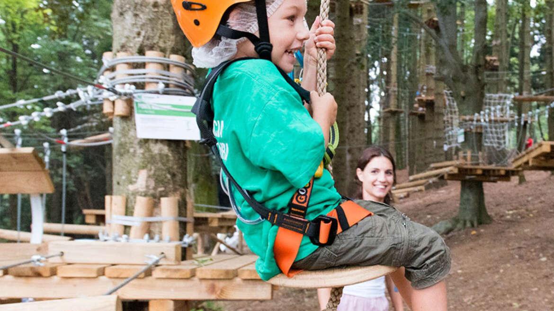 Mottarone Adventure Park apre  con nuove aree giochi per bambini e tree climbing